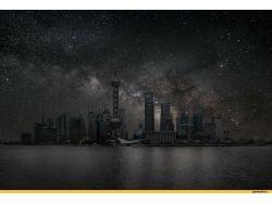 Ночное небо картинки 6