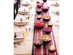 Сервировка стола фрукты фото 6