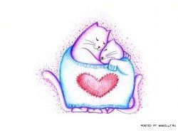 Картинки мультяшные про любовь 5
