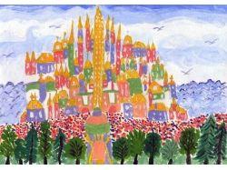 Рисунки город моей мечты 3