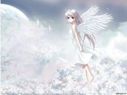 Анимированные картинки аниме ангелов 2
