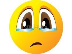 Картинка смайлик грустный 1