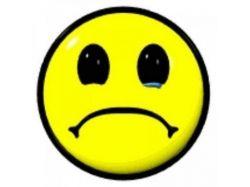 Картинка смайлик грустный 4