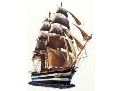 Корабль рисунок карандашом 6