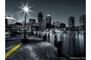 Черно белые города