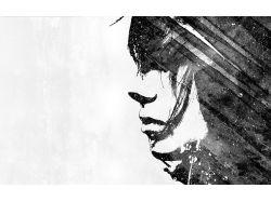 Черно-белые широкоформатные картинки 1