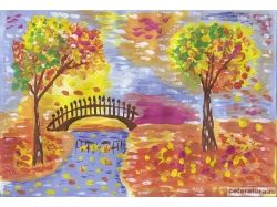 Картинки осень рисунки 7