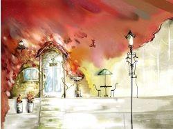 Картинки осень рисунки 3
