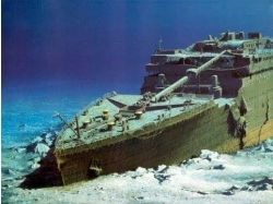 Титаник под водой 4