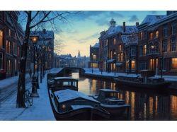Амстердам зимой 4