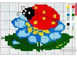 Картинки для вышивания крестиком схемы 3