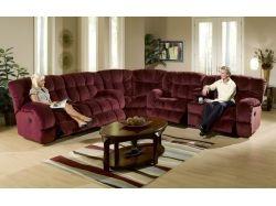 Угловой диван интерьер фото 4
