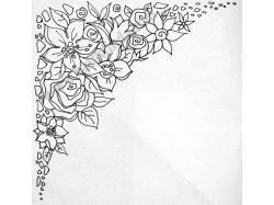 Рисунки для батика 5