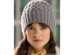 Вязание шапок спицами фото зима 2011