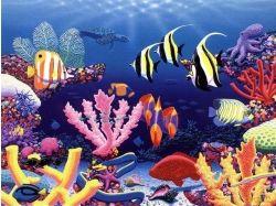 Картинки, сказочный подводный мир, на компьютер