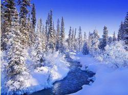 Снег лед фото зима