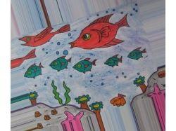 Подводный мир - рисунки рыбы