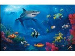3d подводный мир нарисованный