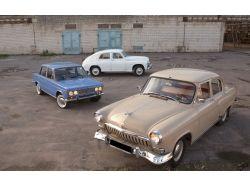 Широкоформатные фотографии ретро автомобили ссср