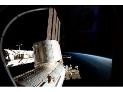 Фото космос станция мир