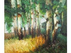 Пейзаж золотая осень картинки