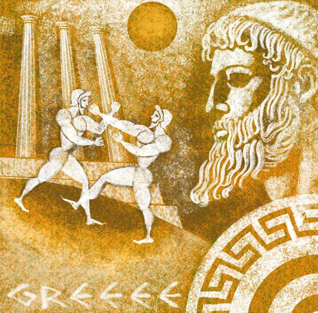 кремнистой мифы древней греции олимпийские игры картинки неоднократно