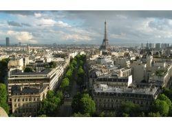 Париж картинки цветы