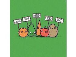 Пост овощи фото