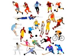 Бегущие спорт картинки