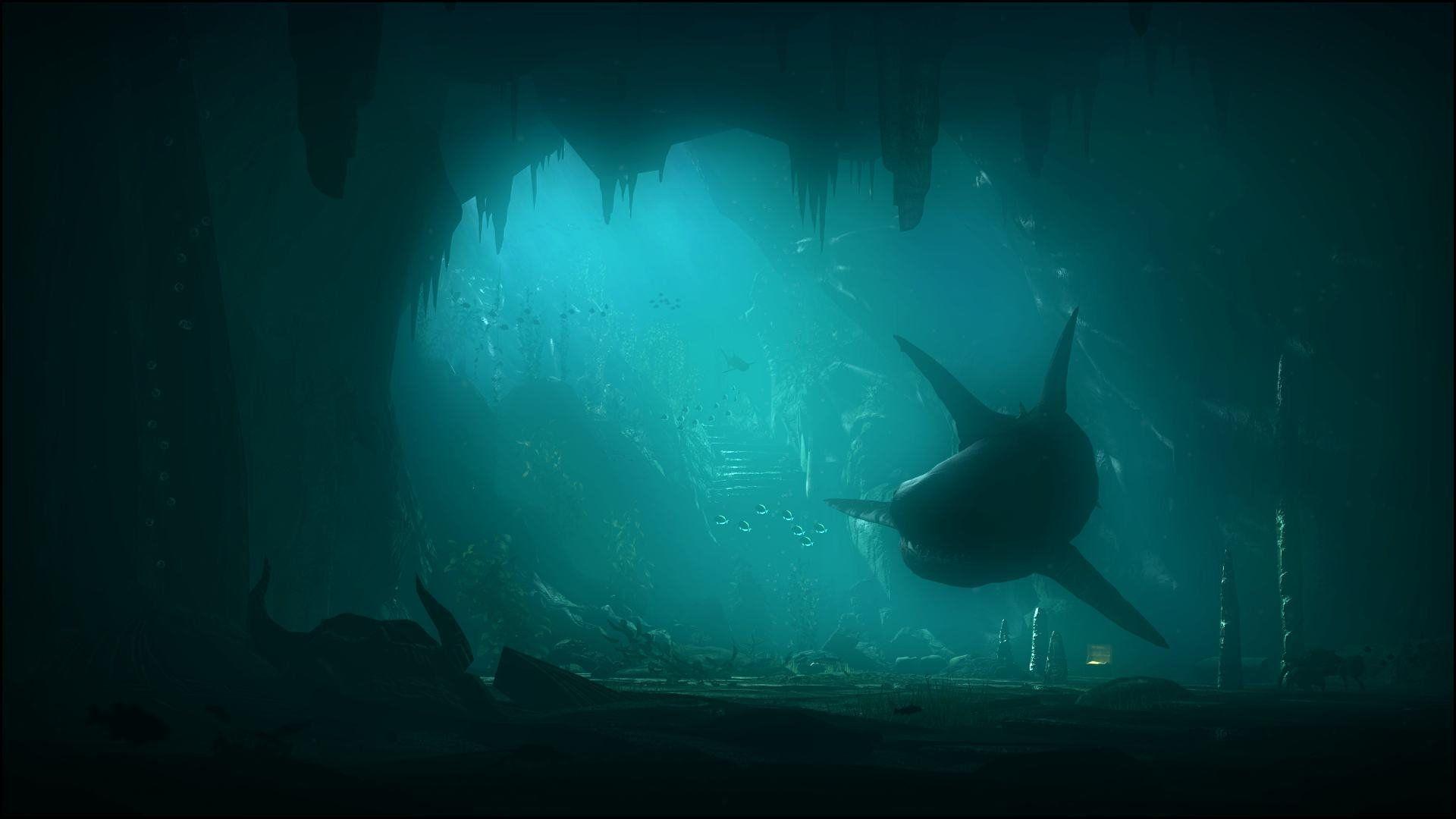 Картинки подводный мир на рабочий стол на весь экран