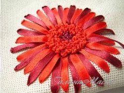 Вышивка лентами картинки цветы