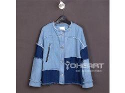 Джинсовая куртка осень фото