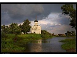 Церковь покрова на нерли осень фото