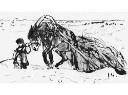 К стихотворению крестьянские дети картинки