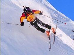 Горные лыжи девушки фото