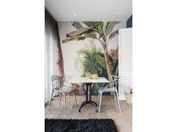 Интерьер фотообои с пальмами