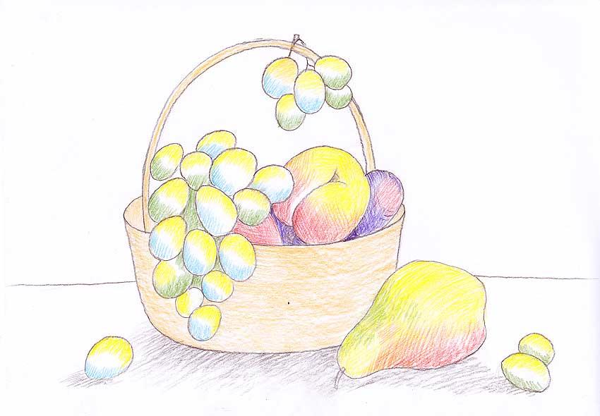 компом картинки для рисования натюрморта из фруктов нефотогеничные