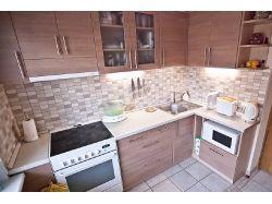 Г-образная кухня интерьер фото