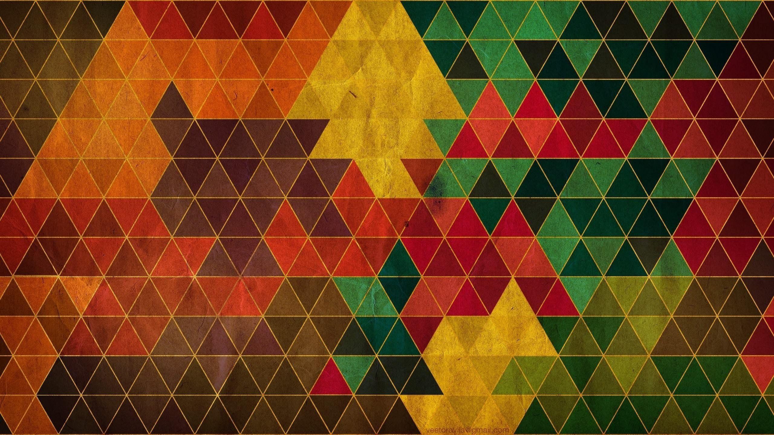 картинки с треугольниками графика обоями
