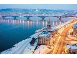 Красноярск фото зима