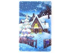 Картинки зима  в простоквашино