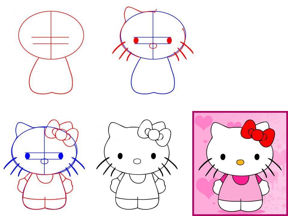 Разные картинки как рисовать
