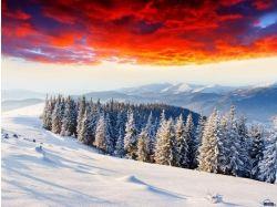 Фото зима горы