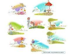 Картинки зима весна лето