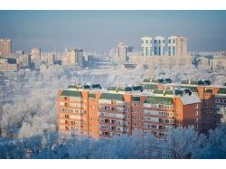 Новосибирск фото зима