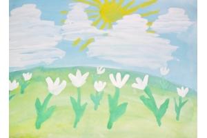 Пришла весна рисунок