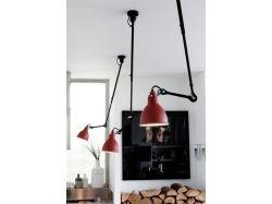 Натяжной малиновый потолок в кухне дезайн интерьер фото