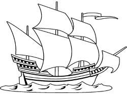 Картинки корабли для раскраски