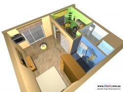 Квартиры маленькие интерьер фото