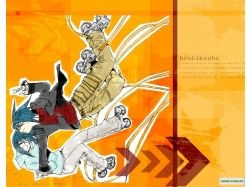 Air gear картинки аниме